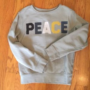 Peek Peace Sweatshirt